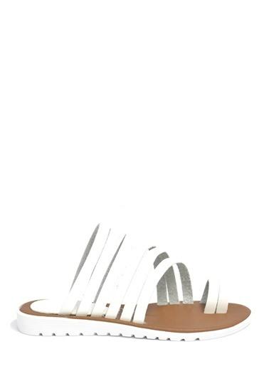 David Jones Sandalet Beyaz